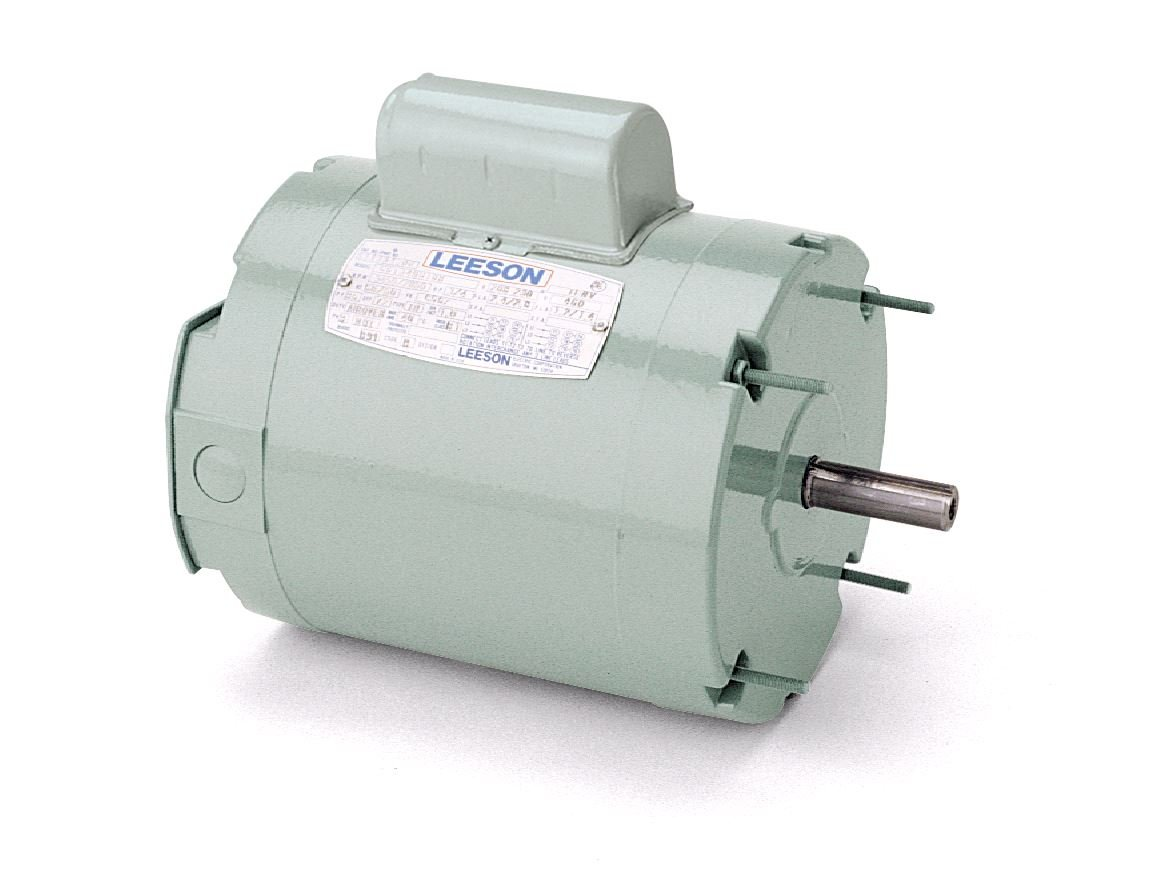 900 RPM 56C Frame 1//2HP Leeson 116201.00 Ventilation HVAC Motor 208-230//460V Voltage 60Hz Fequency 3 Phase Round Mounting
