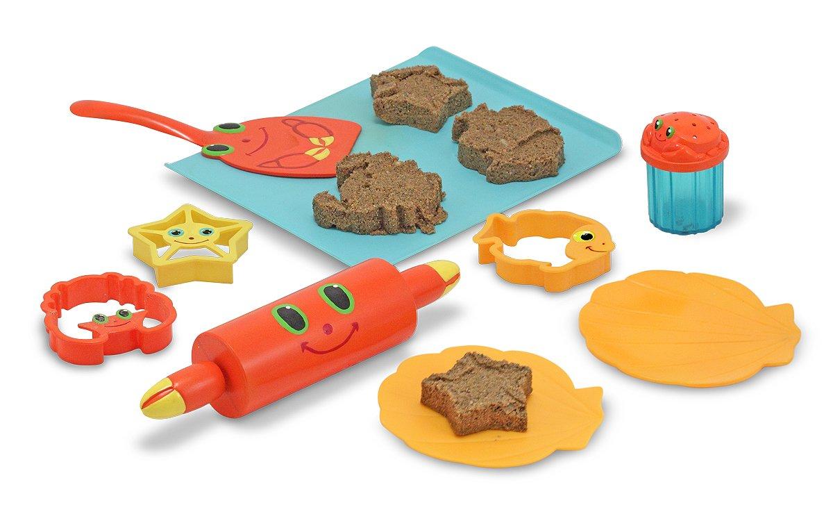 Kinderküche Garten - Spielküche Garten - Melissa & Doug Sand-Backset Sandplätzchen