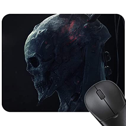 a6bf83e39c1d7 Amazon.com : Fashion Design Skull Computer PC Mouse Mat Gaming Mouse ...