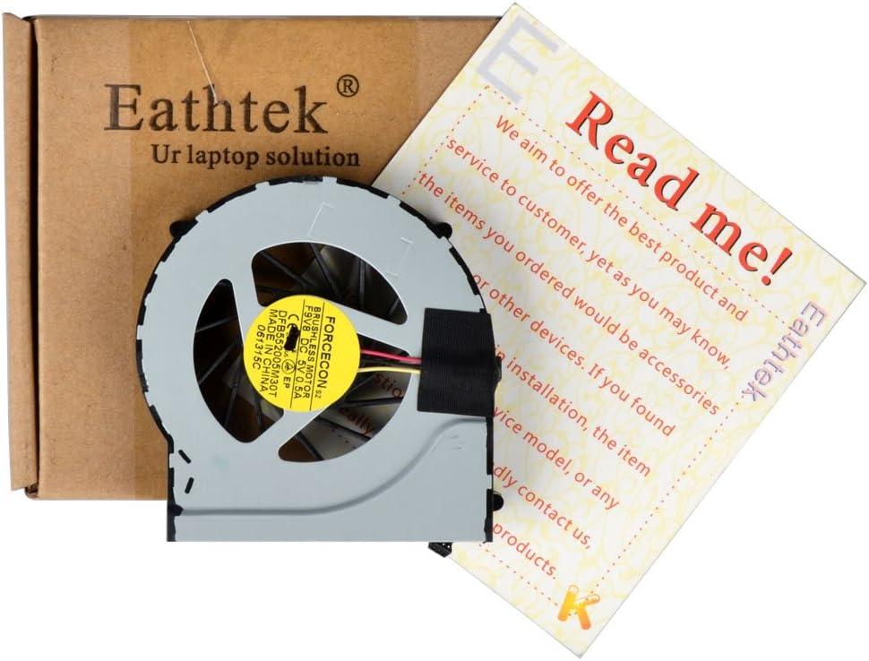 Eathtek Replacement CPU Cooling Fan for HP Pavilion DV6-3000 DV6T DV6T-3000 Series, Compatible with Part# DFB552005M30T KSB0505HA