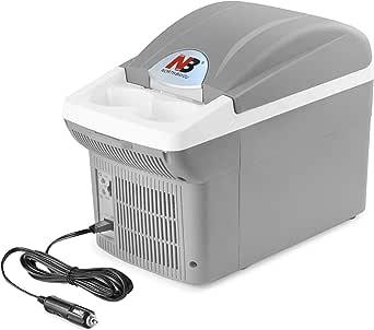 8 Liter Compact Portable Cooler Mini Fridge for Car (12V)(8 Liter)