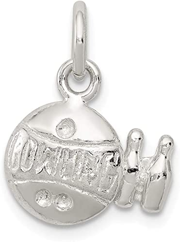 FB Jewels Solid 925 Sterling Silver Ballerina Charm
