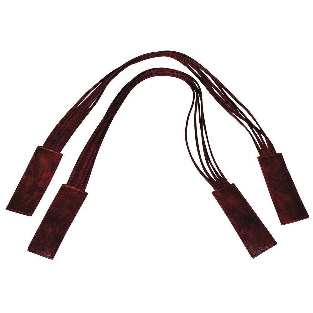 RAYHER HOBBY Rayher 64009290asas Bolsa (piel sintética, 66x 3cm, de Correa sueltos, bolsa de 1par, color rojo