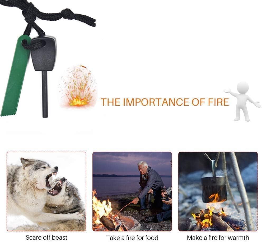 Acampada Estuche de Emergencia Kit de Emergencia Medio Ambiente SHAMS Kit de Supervivencia para Caja de Herramientas Ideal para Supervivencia de Aventura Caja de Salvamento autoayuda