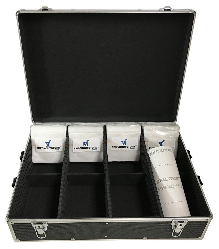 Amazon.com: CheckOutStore, caja de aluminio para organizar ...