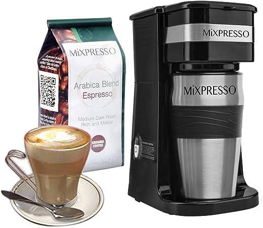 Amazon.com: Ultimate 2 en 1 Cafetera de una sola taza y 14 ...