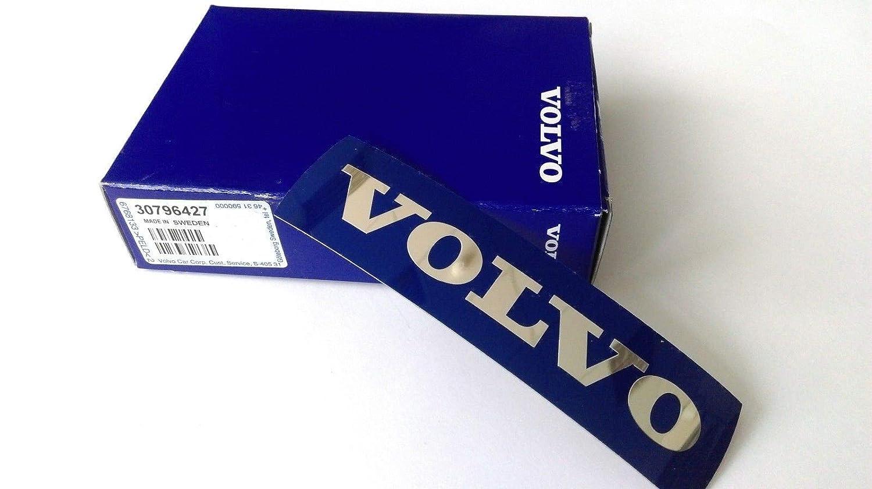 Front Radiator Grille Blue Emblem Genuine Volvo 30796427