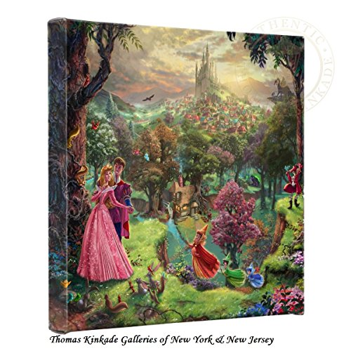 Thomas Kinkade Sleeping Beauty - Pretty Thomas Kinkade Wall Decor