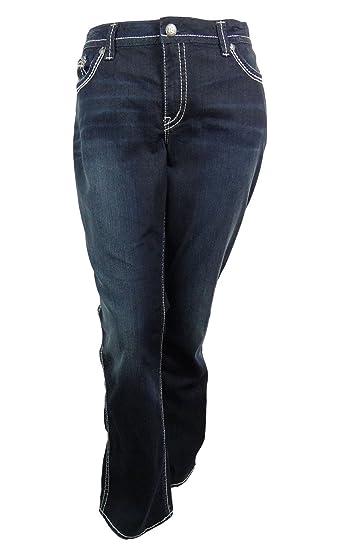 8af8ee7d Amazon.com: Silver Jeans Co. Juniors Frances 18