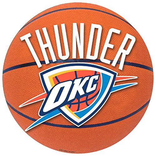 Amscan Sports & Tailgating NBA Party Oklahoma City Thunders Large Cutout Decoration, Multi Color, 12.6 x 12