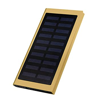 Cargador solar power bank, Colorful (TM) 20000 mAh ultrafina ...