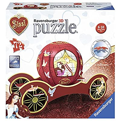Ravensburger Puzzle Ball 3d Carriage Sissi 11795