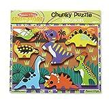 Melissa & Doug Dinosaur Chunky Puzzle thumbnail