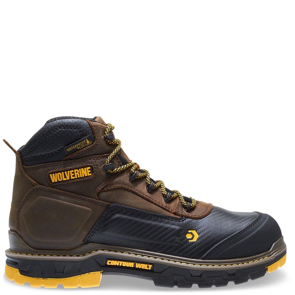Wolverine Men's Overpass 6'' Composite Toe Waterproof Insulated Work Boot