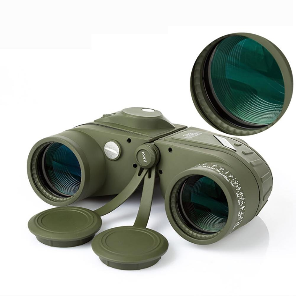 MIAO Outdoor Adult Military Standard High - Definition High Power 10x50 Micro - Light Night Vision Ranging Binoculars with Compass Coordinates by miaomiao (Image #7)