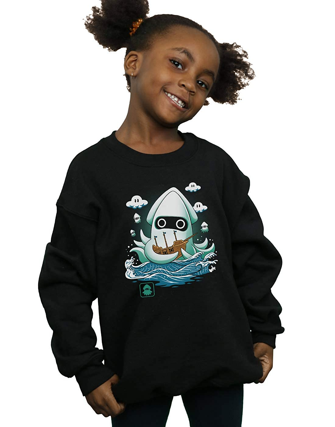 Vincent Trinidad Girls Blooper Kaiju Sweatshirt