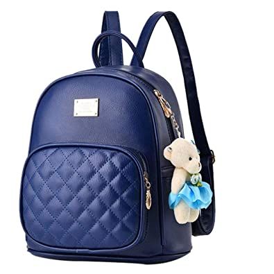 Alice Cute Black Mini PU Leather Backpack Fashion Small Daypacks Purse for  Girls and Women  Amazon.in  Shoes   Handbags 6bead55653511