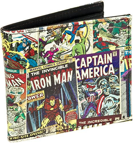 Marvel Comics Mens Wallet (Multi Character, One ()