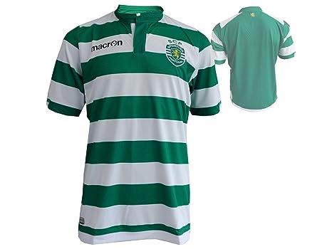 Macron Sporting de Lisboa de fútbol Jersey M14 Home Fussballtrikot Sporting Clube de Portugal SCP Camiseta