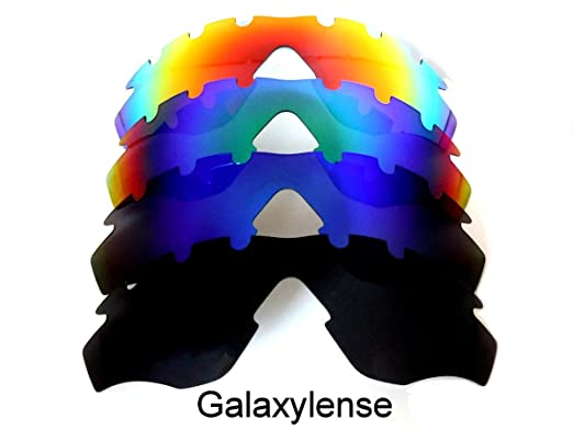 b50824619d Galaxy Replacement Lens For Oakley M2 Frame Sunglasses Vented  Black Blue Green Red
