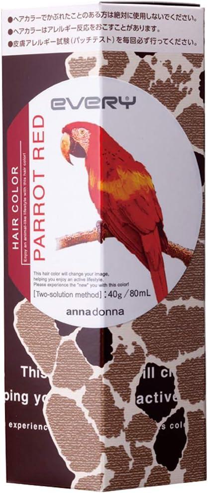 EVERY Anna Donna - Tinte para cabello, color rojo: Amazon.es ...