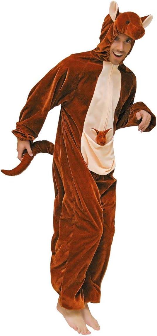 Stekarneval - Disfraz de canguro para hombre, talla 36 inch ...
