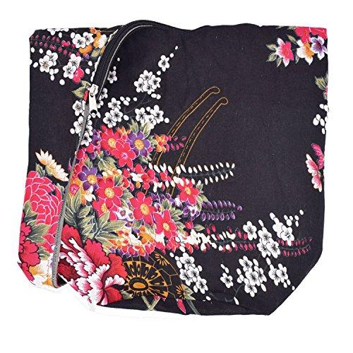 Witery Women's Sling Crossbody Bags Large Shoulder Shopping Hobo Bag Handbag Top Zip Bags Handmade Messenger Bag Wallet by Witery (Image #2)