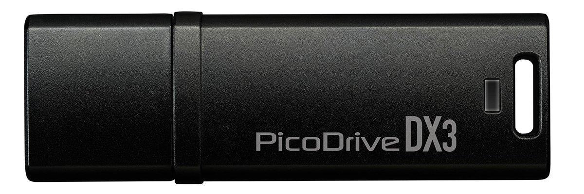 グリーンハウス 400MB/s 高速転送 USB3.0対応メモリー ピコドライブ DX3 256GB ブラック GH-UF3DX256G-BK B0142KHDHQ   256GB
