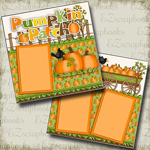 PUMPKIN PATCH - Premade Scrapbook Pages - EZ Layout 2342 ()