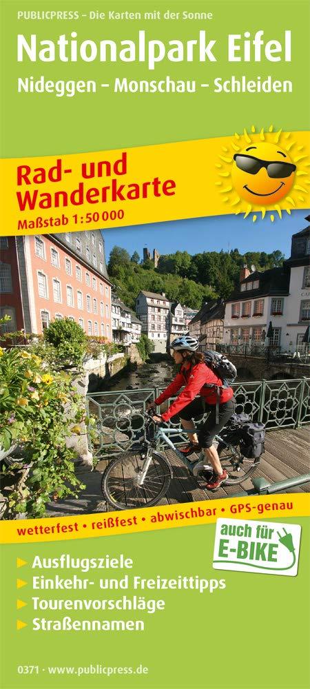 Nationalpark Eifel 1 50 000 Rad Und Wanderkarte Mit