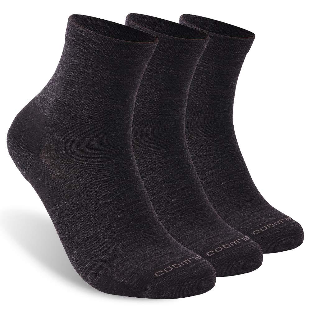 No Show Athletic Socks ZEALWOOD Unisex Merino Wool Moisture Wicking Ultra Light Running Socks 1 3 Pairs