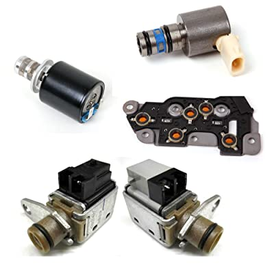 4L80E 5 Piece Solenoid Set 1993-2003 GM: Automotive