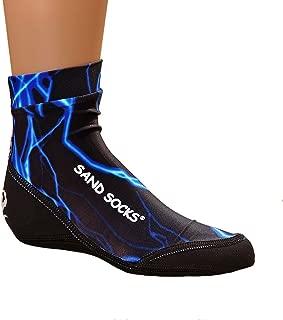 product image for Sand Socks Vincere Toddler Blue Lightning Size Medium