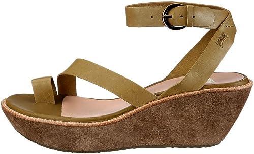 6887454d CAMPER Damas - Sandalias de Vestir de Piel para Mujer Verde Stetson Pravia  Rei Afelpado, Color Verde, Talla 40: Amazon.es: Zapatos y complementos