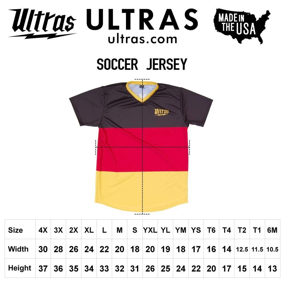 Ultras Michigan State Party Flags Soccer Jersey
