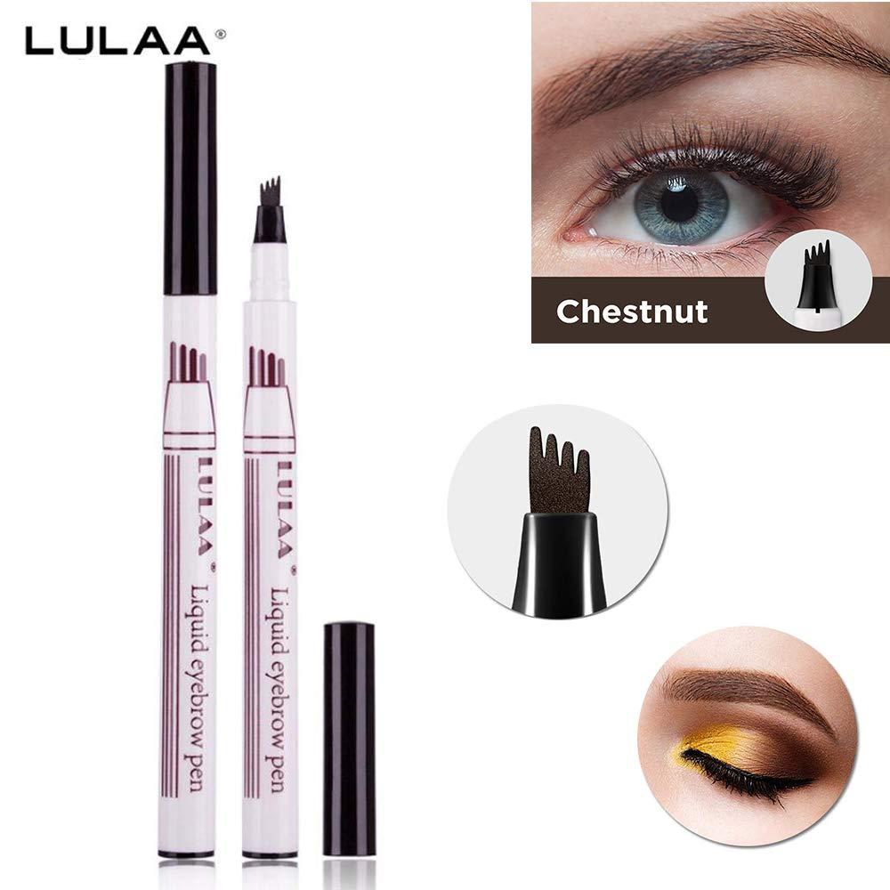 Amazon Liquid Tattoo Eyebrow Pen With Four Tips Long Lasting
