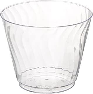 Chinet 100 CT 9 OZ Cut Crystal Plastic Cold Cups  sc 1 st  Amazon.com & Amazon.com: Chinet Cut Crystal 10 oz Plastic Cups - 150-Count ...
