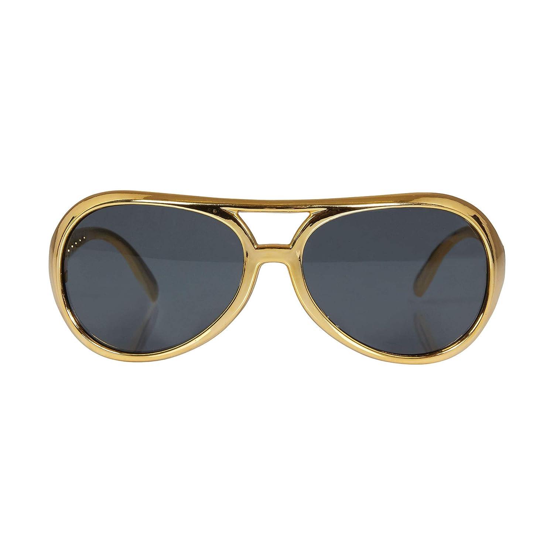 uomo oro taglia unica Bristol novit/à BA243/Rock Star occhiali da sole