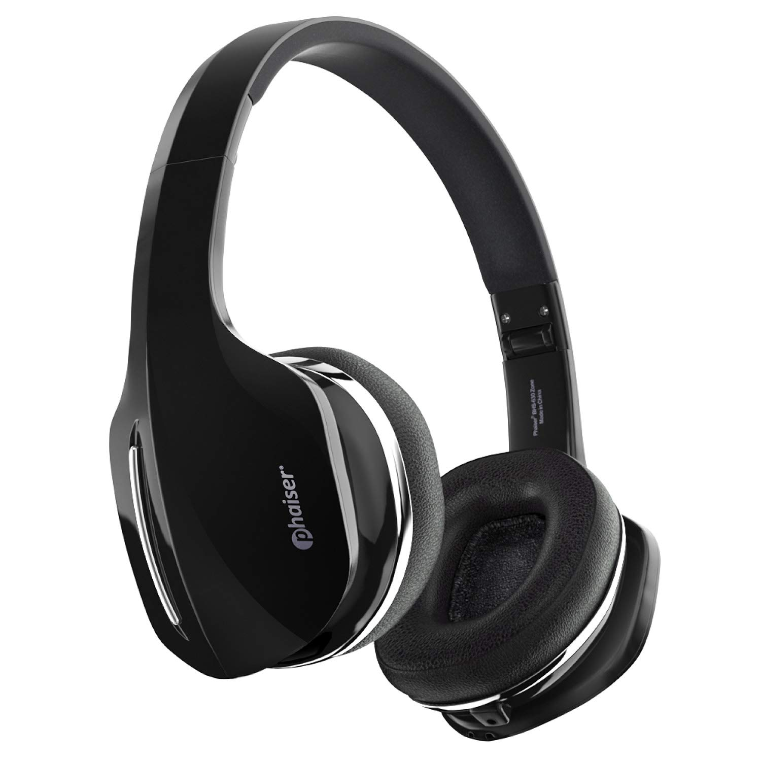 8ee41f763b3 Phaiser BHS-630 Bluetooth Headphones HiFi Stereo Wireless On Ear Deep Bass  Headset w/Noise Canceling Microphone 15 Hour Playtime Comfortable Earpads  for ...