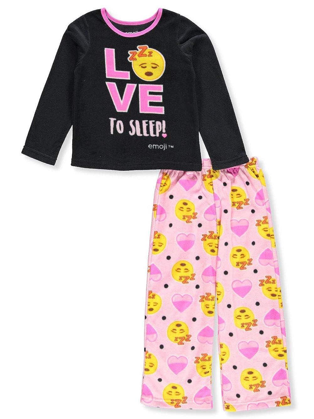 Emoji Girls' 2-Piece Pajamas