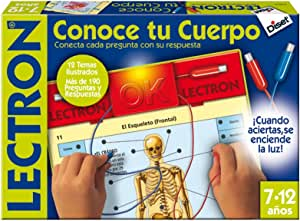 Diset 63816 - Lectron Conoce Tu Cuerpo: Amazon.es: Juguetes y juegos
