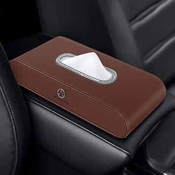 Sgjj Für Mercedes Benz Auto Taschentücher Box Auto Taschentücher Box Neue C Klasse E Klasse C200lglgla200 Seat Car Tray A2 Sport Freizeit