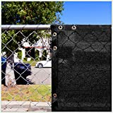 ColourTree 2nd Generation 6' x 50' Black Fence