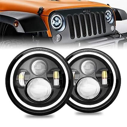 Jeep Wrangler Led Headlights >> Firebug Jeep Wrangler Led Headlights