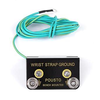 Anti-static ESD Grounding Socket, Electrostatic Discharge 2M