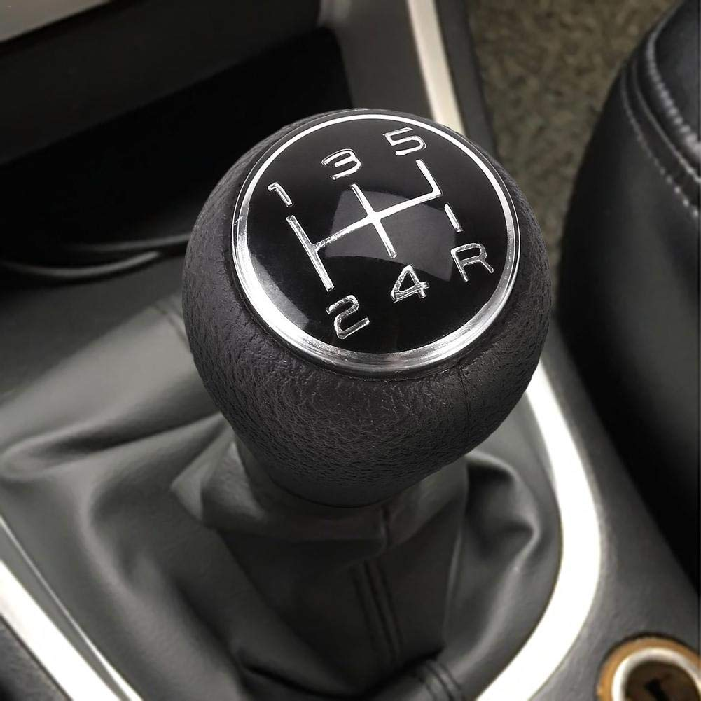 Pepional Gear Shift Knob 5 Speed Manual Car Gear Shift Compatible With CITROEN C1 C3 C4 5 For PEUGEOT 106 107 205 206 207 306 307 308 309 405 406 407 508 605 607 806 807