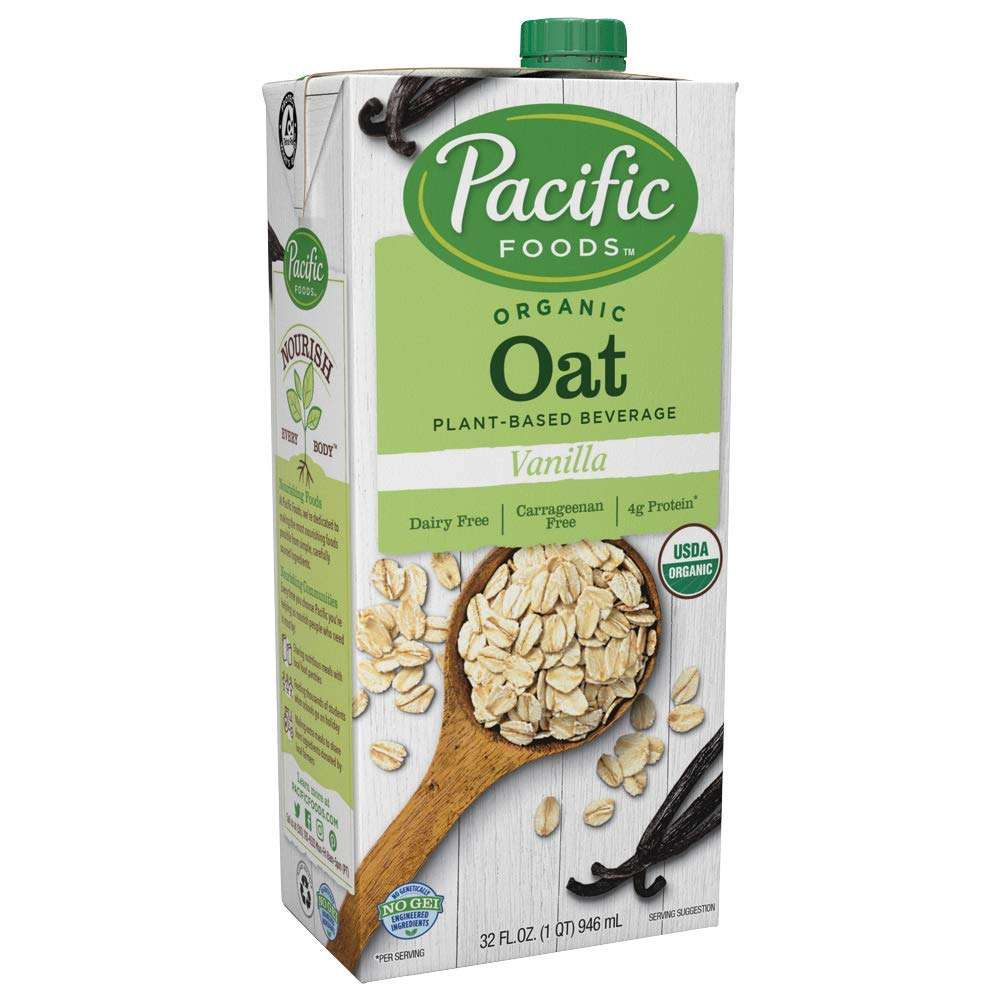 Pacific Natural Foods Bev Oat Vanilla, 32 Fl Oz