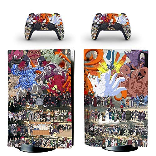 Dreamteam PS5 Skin Disc Edition Camouflage Skin Sticker Decal Cover for PS5 PlayStation 5 Console and 2 Controllers PS5 Skin Sticker Vinyl