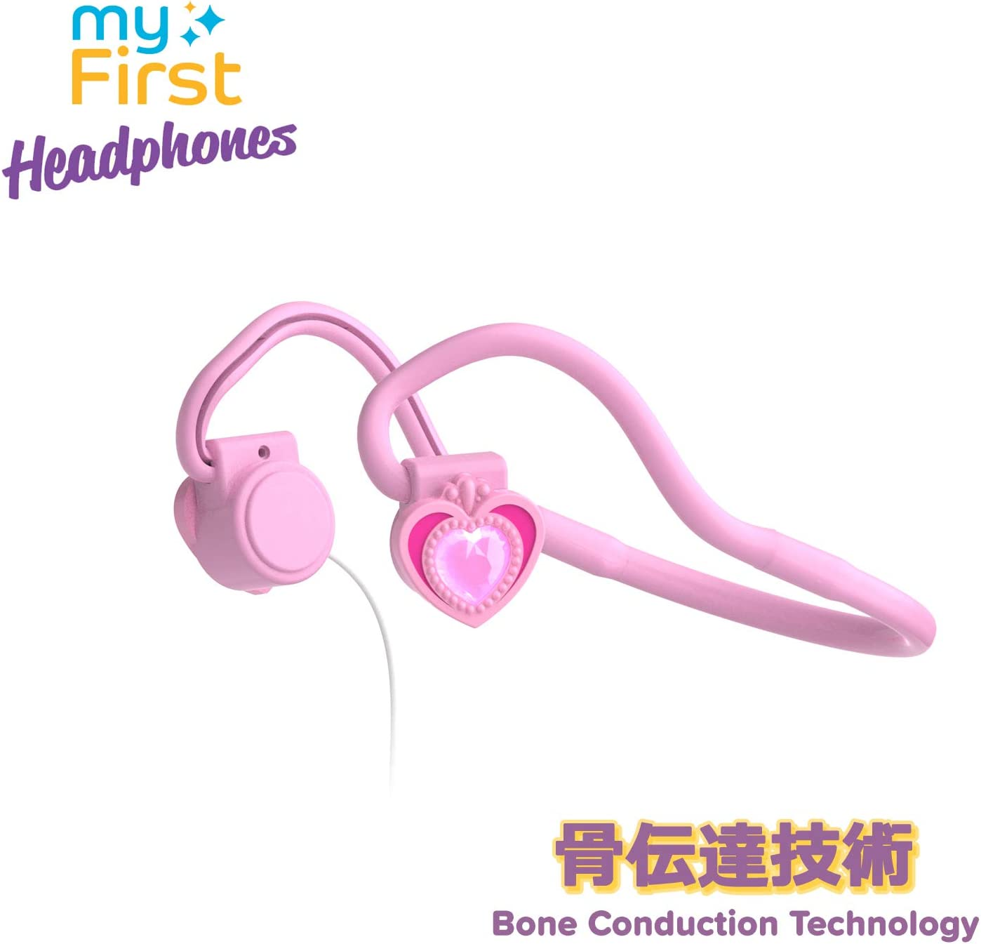 The Ear Headphone for Kids with Bone Conduction for the toddler travel on Airplane