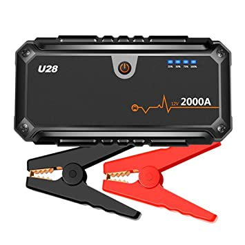 Amazon.com: WPFC - Cargador de batería portátil para coche ...